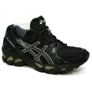 Asics Womens Gel Kayano 17 Black Sneakers Size 8.5